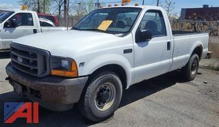 2001 Ford F250 XL Super Duty Pickup Truck