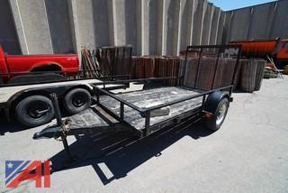 1998 Utility 10' Trailer with Ramp