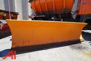 Western Plow Assembly/Orange