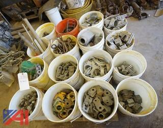 Pails of Assorted Hardware Stock