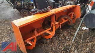 "Kubota 62"" Snow Blower Attachment"