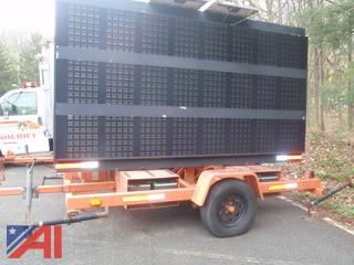 (#97) Solar Powered Message Board