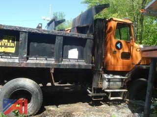 (#10) 1997 Volvo Autocar Dump Truck (Parts Only)