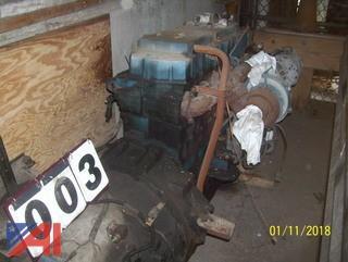 DT466 Motor/Transmission