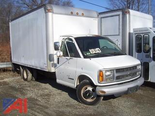 2000 Chevy 3500 Cube Van