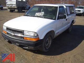 1998 Chevy S10 Pickup Truck