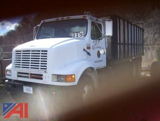 1991 International 8100 Stake Dump Truck