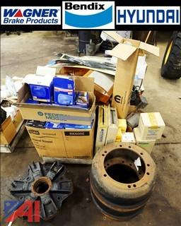 Pallet of New and Used Automotive Parts and Related
