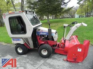 Ventrac 4200 VXD Snow Blower with Attachments