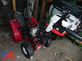 "White Outdoor 26"" Snow Blower"