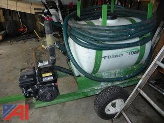 55 Gallon Turbo Turf  Hydro Seeder