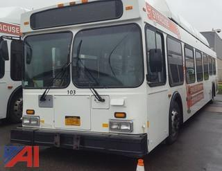 (#103) 2002 New Flyer C40LF Transit Bus