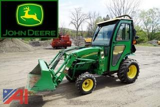 2011 John Deere 2320 Compact Utility Tractor with Loader