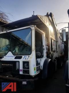 2005 Mack MR688S Front Loading Garbage Truck