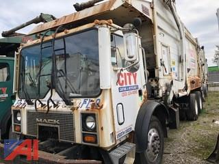 2003 Mack MR688S Front Loading Garbage Truck