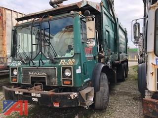 2007 Mack MR688S Front Loading Garbage Truck