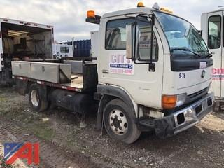 1999 Nissan UD1400 Utility Truck with Liftgate