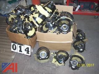 Large Lot of Scott Air Masks