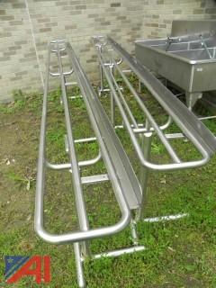 12' Stainless Steel Serving Lines