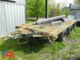 1994 Military M1061A1 5 Ton Flat Bed Trailer