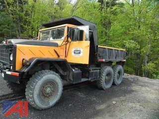 1985 Military M929A1 5 Ton 6 x 6 Dump Truck