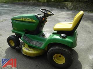 """John Deere LT160 42"""" Mower"""