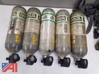 MSA Air Bottles, #4500