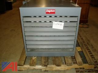 Dayton Natural Gas Down Flow Heater