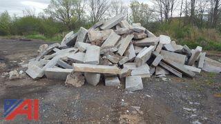 Large Quantity of Granite Curbing
