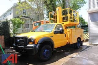 2006 Ford F450 Super Duty Utility Tower Truck