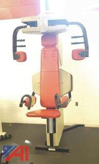 Nautilus Fly/Lateral Raise Machine