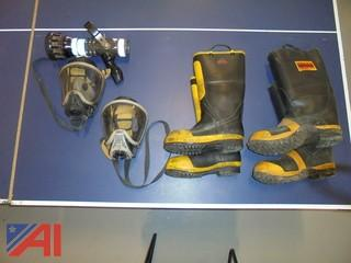 Face Mask, Nozzle and Boots