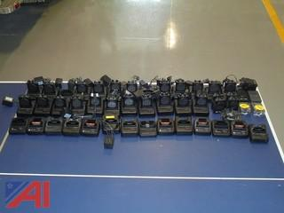 Large Lot of Pagers and Chargers