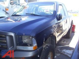 2004 Ford F250 Super Duty Pickup Truck