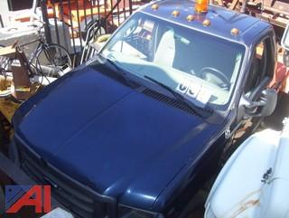 2004 Ford F550 Cab and Chassis (Parts Only)