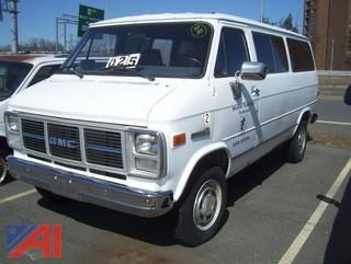 1989 GMC Rally Van