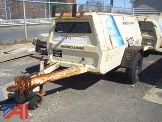 1991 Ingersol Rand Air Compressor on Trailer