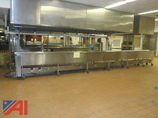 (#120) Conveyor for Food Trays