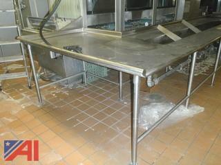 (#122) Salvajor TroughVeyor Food Scrapping System