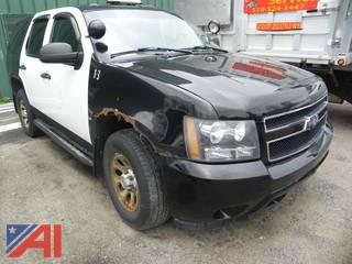 2008 Chevy Tahoe SUV/Police Vehicle