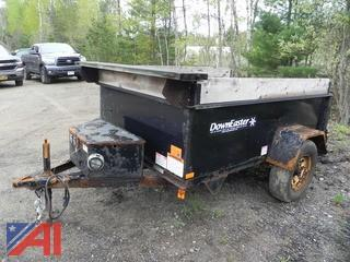 2004 Downeaster 6 x 8 Single Dump Trailer