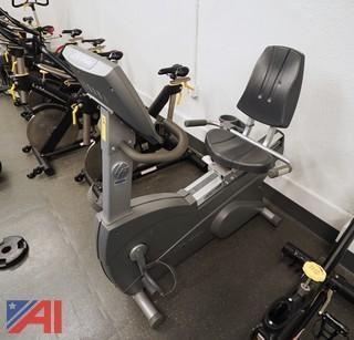 Life Fitness Upright Lifecycle Bike