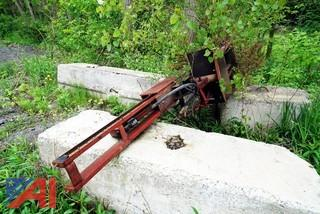 Hydraulic Post Pounder 3PT. Hitch