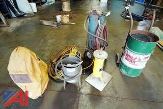 Sandblaster Equipment & Related Items