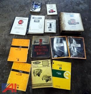 Assorted Vintage Shop Books