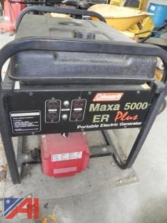 (#3) Coleman Maxa 5000 ER Plus Powermate Generator