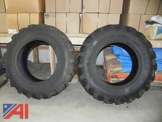 (#11) Primex Razorback 16.9-28 Tires, New/Old Stock