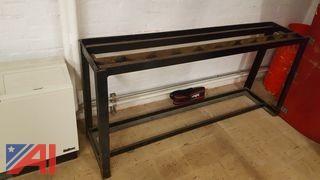 Wrought Iron Weight Rack