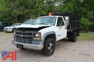 1998 Chevrolet C/K 3500 Rack Truck