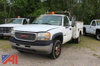 2001 GMC Sierra 3500 Utility Truck
